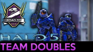 Halo 5: Guardians - Close Game of Team Doubles with Mint Blitz - Road to Champion