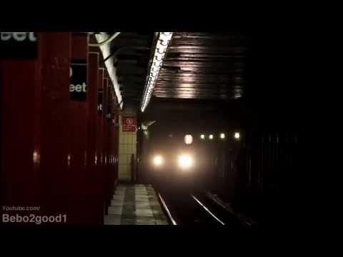 IRT Broadway Subway: (1) Lcl & (2) Exp at W. 79th St [R62/R142]