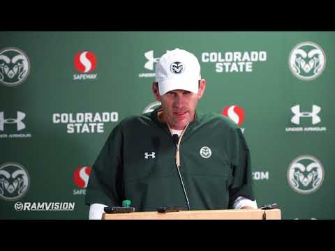 CSU Football vs. Colorado: Mike Bobo press conference