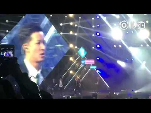 [2015.10.11] I DON'T GIVE A SHIT (LIVE) - HAN GENG - EMA拉票会