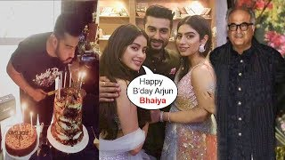 INSIDE Video: Arjun Kapoor's Birthday Party 2018 With Sridevi's Family-Jhanvi,Khushi,Boney
