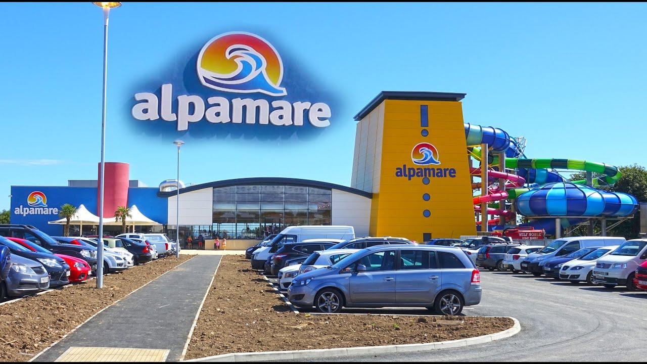Alpamare Scarborough Waterpark Tour Uk 4k Youtube