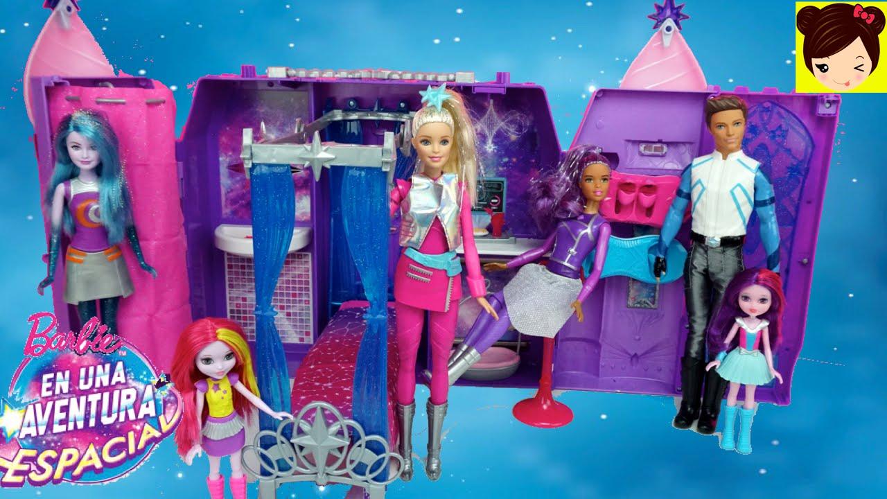 Barbie Pelicula Una Aventura Espacial Juguetes Castillo Galactico
