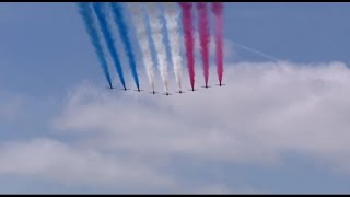 VE Day 70 The Nation Remembers Fly Past Red Arrows 10.5.2015