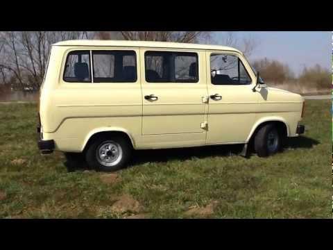 Onze Nieuwe Trots. Een Hagel Nieuwe Ford Transit Mk2 Uit'83