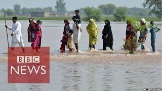 India & Pakistan floods: 'We had no warning' - BBC News