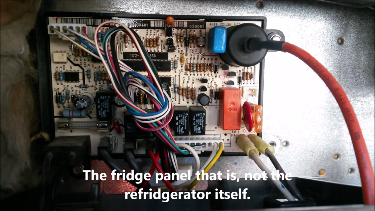 Thermistor Wiring Diagram Draw A Word Problems Fulltime Rving Need Help On Norcold Fridge - Youtube