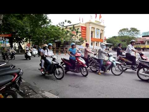 Vietnam - Hai Phong Traffic