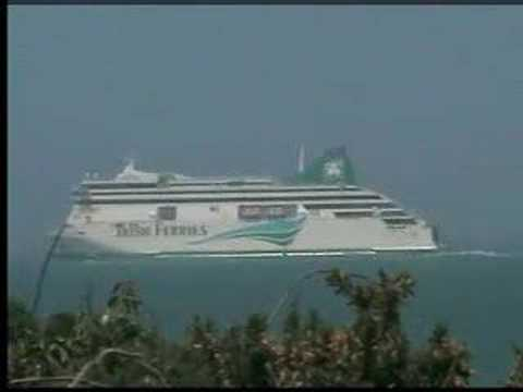 Ferry To Ireland From Holyhead >> Irish Ferry Ulysses, Holyhead Dublin Ferry - YouTube