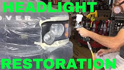 COMPLETE Headlight Restoration Step by Step Tutorial!! Do it right the first time!!!