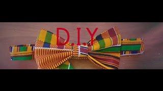 DIY Wednesdays !How to make a Bowtie  No sew