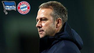 🎙 5. Sieg in Serie! Pressekonferenz mit Hansi Flick | Hertha BSC - FC Bayern