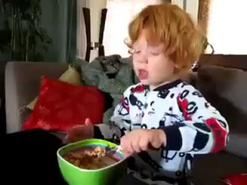 Ginger kid sneezes in mario style [Funny] - YouTube