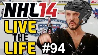 "NHL 14: Live the Life ep. 94 ""Can We Get Through A Game"""