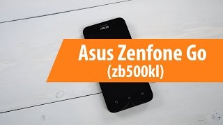 распаковка Asus ZenFone Go ZB500KL / Unboxing Asus ZenFone Go ZB500KL