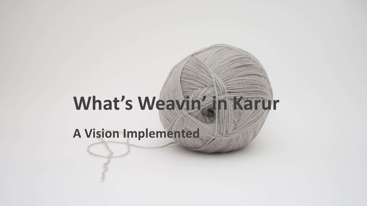 What is Weaving in Karur | A Vision Implement on Knitted Fabric Industry |  Fibre2Fashion