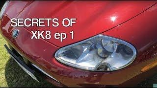 Секрети Ягуар XK8 і передовими технологіями ЕП 1 керівництво по експлуатації даху & завантаження