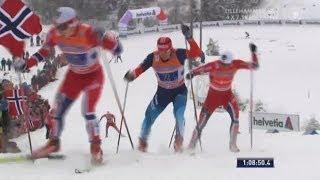 Лыжные гонки Мужчины Эстафета 4х7,5 км 8 декабря 2013 г. Лиллехаммер Норвегия