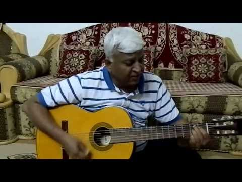 "Song ""Chithi Na Koi Sandesh"" On Guitar Chords By Anand Chhangani Jodhpur"