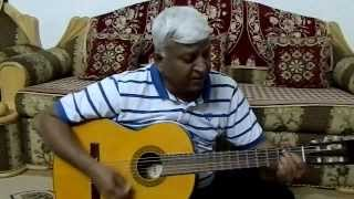 "Song ""Chithi Na Koi Sandesh"" On Guitar Chords By Anand Chhangani Jodhpur"