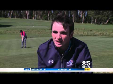 KPIX Daniel Connolly SF Golf Champion