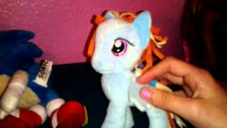 Sonic and Rainbow Dash: lunch problem