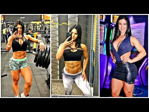 EVA ANDRESSA MOTIVATION (Delicate and Strong Gym Girl)