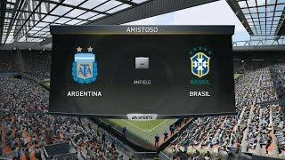 FIFA 15 Demo PC | Argentina vs Brasil | Legendario 720p