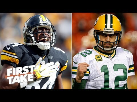 Aaron Rodgers throwing to Antonio Brown would be something to behold – Stephen A. | First Take