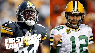 Aaron Rodgers throwing to Antonio Brown would be something to behold – Stephen A.   First Take