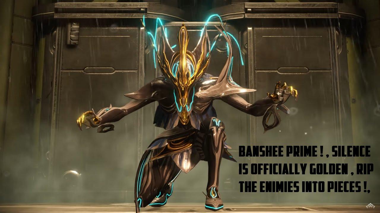 how to get banshee prime