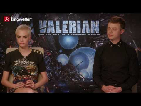 Interview Cara Delevingne & Dane DeHaan VALERIAN AND THE CITY OF A THOUSAND PLANETS
