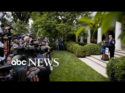 The showdown at the White House