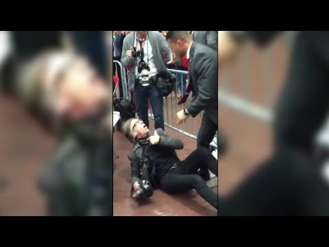 Photographer: Secret Service agent choked, slammed me