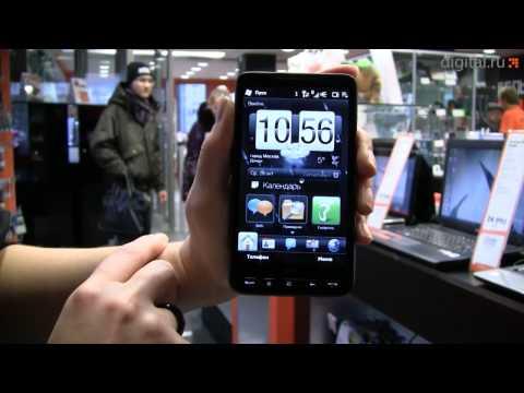 Видеообзор коммуникатора HTC HD2 (LEO)