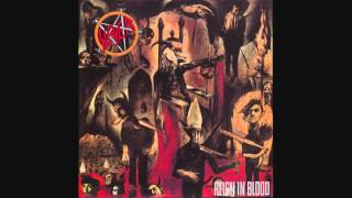 Slayer - Reign In Blood (33 RPM) (Full Album 1986)