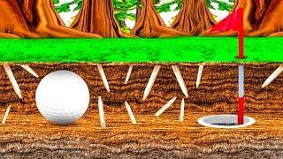 100% САМЫЙ СЕКРЕТНЫЙ ПРОХОД! ЭТУ ЛУНКУ ПРОЙДЕТ ТОЛЬКО ИЗБРАННЫЙ! КРУТАЯ КАРТА В ГОЛЬФ ИТ (Golf It)