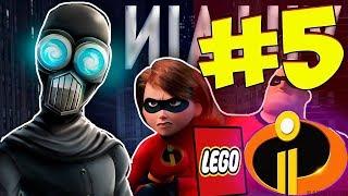 Лего Суперсемейка 2 : Прохождение - Часть 5 (БОСС ЭКРАНОТИРАН) || Lego The Incredibles 2