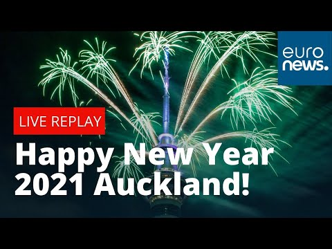 Happy New Year New Zealand! Auckland welcomes in 2021 with celebratory fireworks
