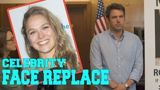 Celebrity Face Replace: Ronda Rousey and Gone Girl | Splash News TV