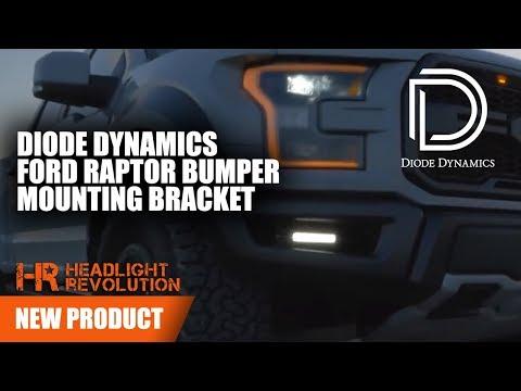 Diode Dynamics Led Light Bar Fog Light Kit For Ford Raptor