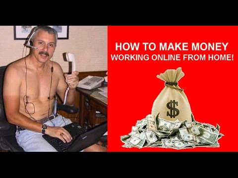 6 FIGURES IN YOUR UNDERWEAR  - HOW TO MAKE MONEY WORKING ONLINE FROM HOME