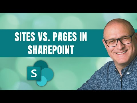 Sites Vs. Pages In SharePoint