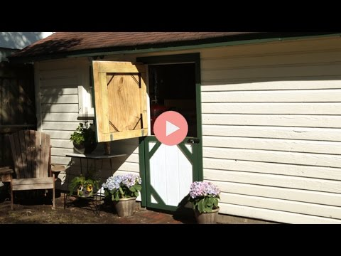 How To Create Dutch Door For Shed