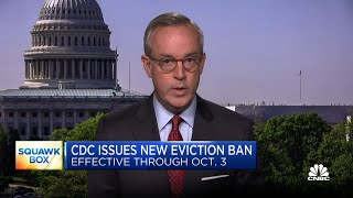 CDC issues new eviction ban through October 3