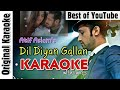 Dil Diyan Gallan Karaoke with Lyrics   Tiger Zinda Hai