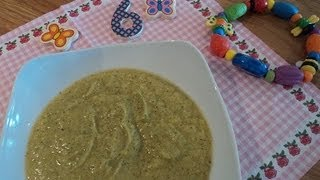 homemade baby food puree from 6 7 months video recipe