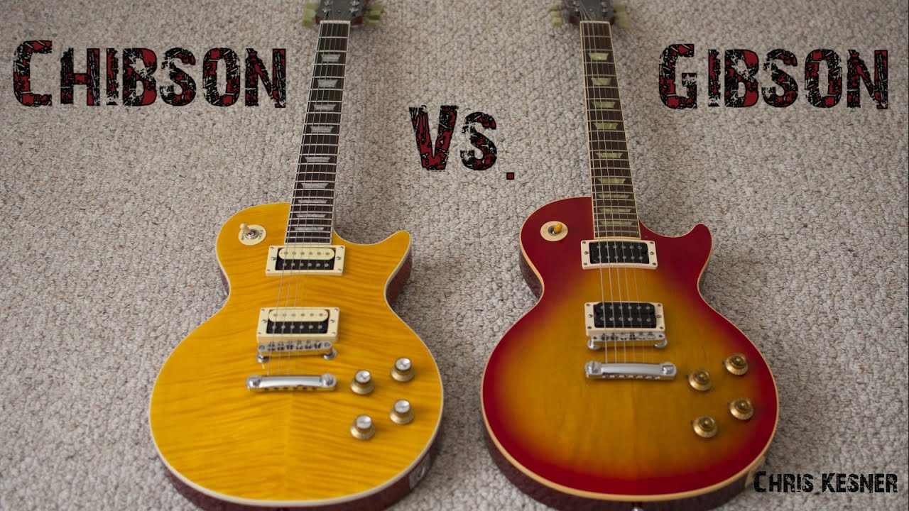 Chibson Vs Gibson A Comparison Of Les Pauls Youtube