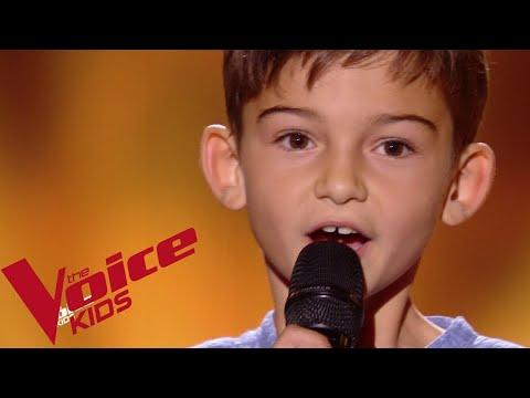 Les Enfoirés - Juste une petite chanson | Mathis | The Voice Kids France 2018 | Blind Audition