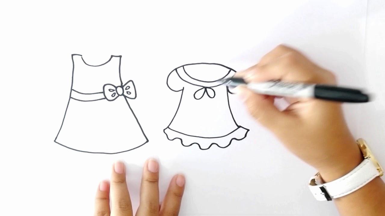 Cómo Dibujar Vestidos Dibujo De Vestidos Paso A Paso